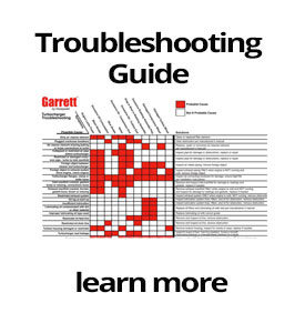 honeywell garrett turbochargers troubleshooting chart - M&D Distributors