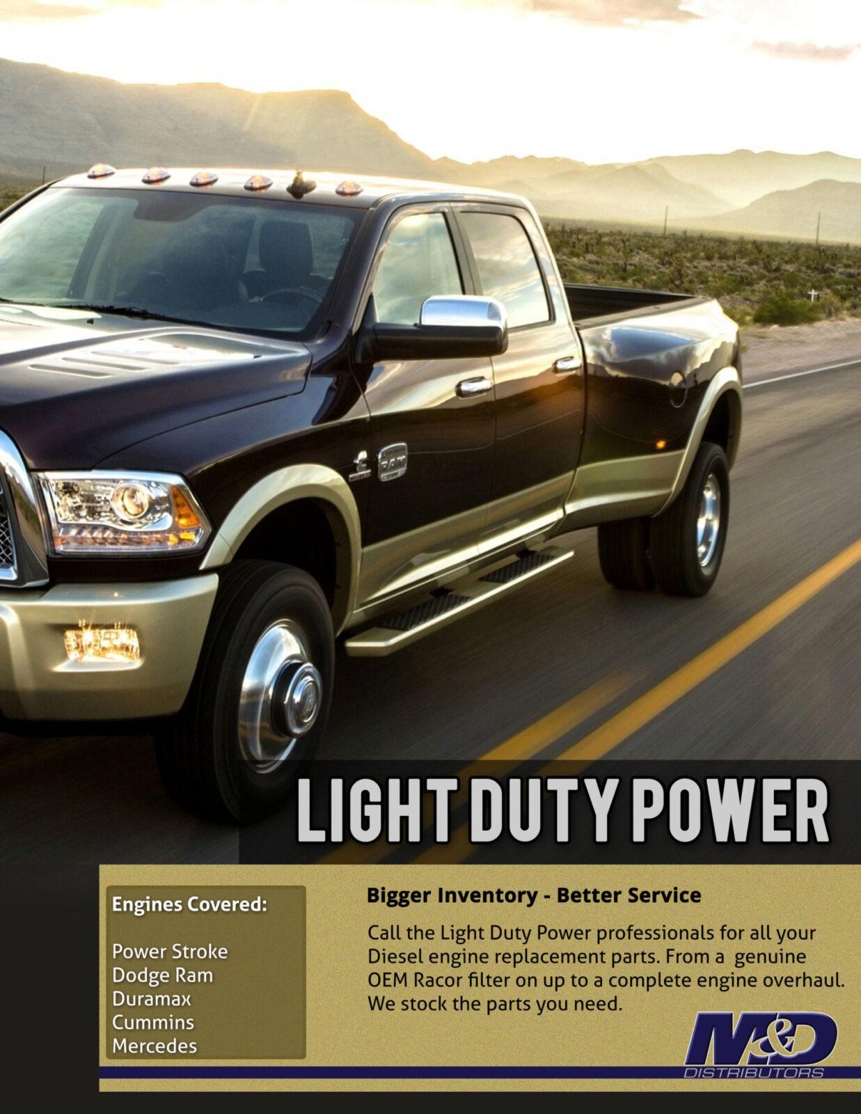 Light Duty Power Engine