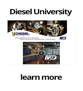 Diesel University - Learn online - M&D Distributors