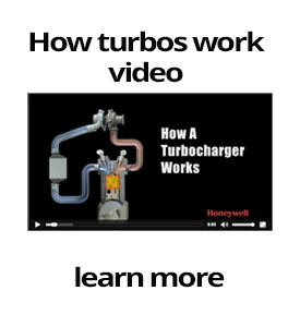 We're your turbocharger professionals!