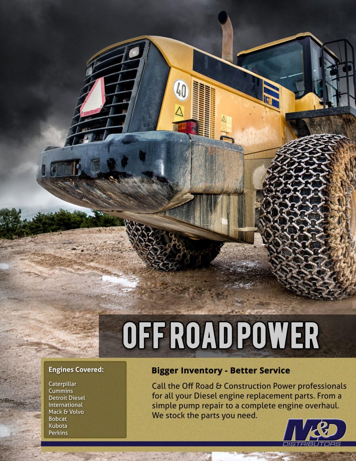 Off Road Power Diesel Engine Parts